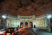 Admiralty Arch, London, England, UK, Europe, Illuminated At Night In Winter