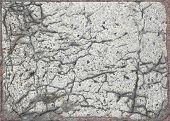 Cracked Marble Slab Grunge Texture
