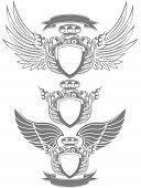 Turbo engine emblem