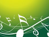musical notes background vector illustration