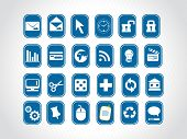 blue small icons