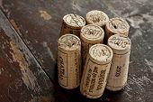 Bordeaux Red Wine Bottle Corks