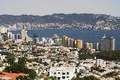 Modern Acapulco Skyline