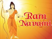 white rays, curve background, abstract illustration for ram navami