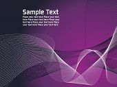 purple,white Vector Lines Background with mesh and place for text