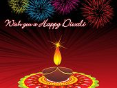 a very nice illustration for diwali,vector wallpaper