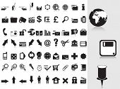 vector illustration collection of web icons