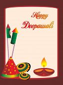 beautiful greeting cards for diwali celebration