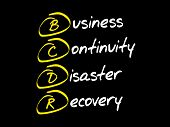 Bcdr  Acronym Business Concept poster