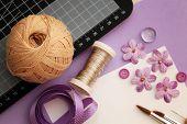 materiais de scrapbooking artesanal