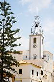 Clock Tower In Albufeira, Portugal