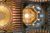 Interior of basilica Notre-Dame de la Garde