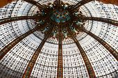 Beautiful ceiling in Galleries Lafayette