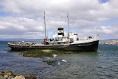 Old steamship