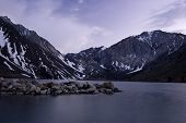 Dusk At Convict Lake (Color)
