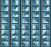 Filmstrip (Texture Series 0 To 4)