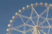 quarter-view-of-giant-ferris-wheel