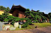 chinese garden house