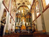 Interior Of The Basilica Of Jasna Gora In Czestochowa