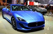 GENEVA - MARCH 12: Maserati Gran Turismo Sport on display at 82nd Geneva Motor Show on March 12, 201