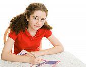 Teen Registers To Vote