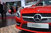 Mercedes SL Class At the 82th Geneva Motor Show