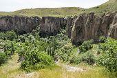 The Longest Road Of Faith And Culture In Cappadocia.ihlara Valley (peristrema Monastery) Or Ihlara G poster