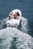White Speed Boat