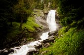 Power Of Water - Saent Waterfalls In The Italian Mountains