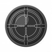 Isolated Object Of Army And Deep Symbol. Set Of Army And Nuclear Vector Icon For Stock. poster