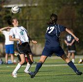 Meisjes Hs Varsity Soccer hoofd opslaan