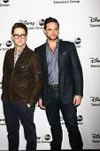 LOS ANGELES - JAN 10:  Bradford Anderson, Brandon Barash attends the ABC TCA Winter 2013 Party at La