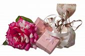 stock photo of baptism  - weddings favors for wedding baptism and First Communion - JPG
