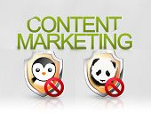 Conteúdo marketing algoritmo panda pinguim seo