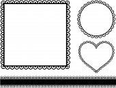 Frame Hearts set