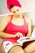 Women Reading A Magazine