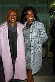 LOS ANGELES - JAN 12: CCH Pounder, Lorraine Toussaint kommt zu nominierten Film Inependent 2013