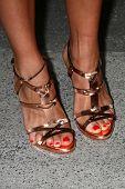 LOS ANGELES - JAN 12:  Rashinda Jones arrives at the 2013 Film Inependent nominees brunch at BOA Ste