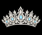 stock photo of tiara  - illustration tiara crown women - JPG