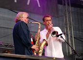 Klaus Doldinger Performs With Hubert Von Goisern