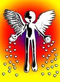 Flying Angel Of Love