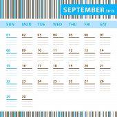 Planning Calendar - September 2013