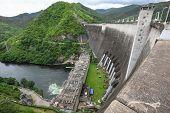 Bhumibol Dam In Thailand