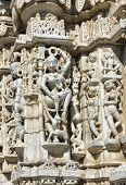 picture of jain  - Ancient Sun Temple in Ranakpur - JPG