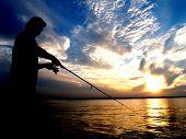 Fishing Silhoutte