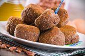 Black Bean Meatballs.