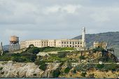pic of alcatraz  - alcatraz prison island one of the most recognisable islands in san francisco bay - JPG