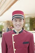 Portrait of Bellhop