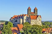 The Castle And Church, Quedlinburg, Germany