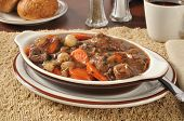 Rich Beef Stew Bourguignon